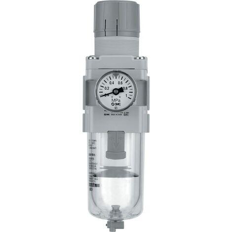 Filter Regulator - with Built-in Pressure Gauge