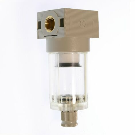 """Filter-Wasserabscheider FWA 214, Grau, innen G 1/4"""", Kunststoff"""
