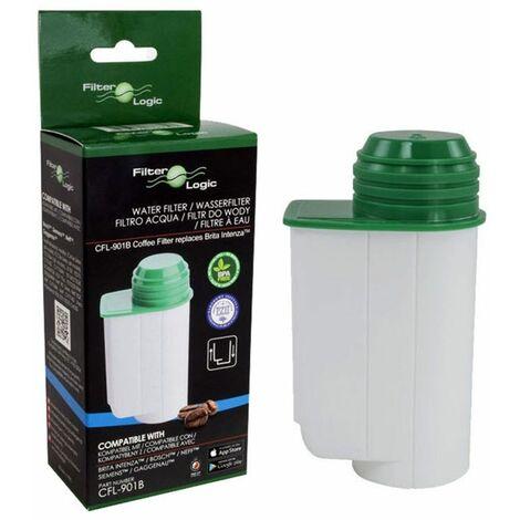Filterlogic CFL-901B Water Filter Cartridge Compatible with Brita Intenza Coffee Maker Machines