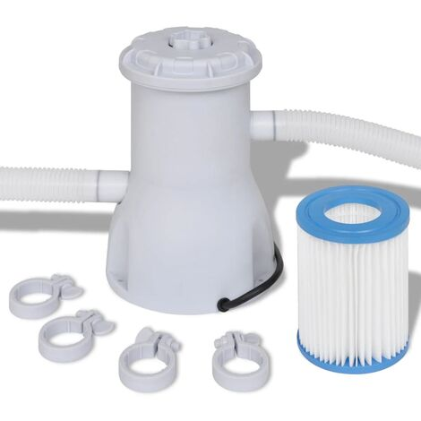 Filterpumpe Poolfilter Filter Pumpe Pool 530 gal / h