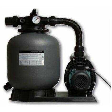 Filtration piscine hors sol Hydro S : Filtre à sable + pompe 6 m3/h