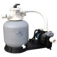 Filtration piscine hors sol Mega Pool FSF : Filtre + pompe 4 m3/h