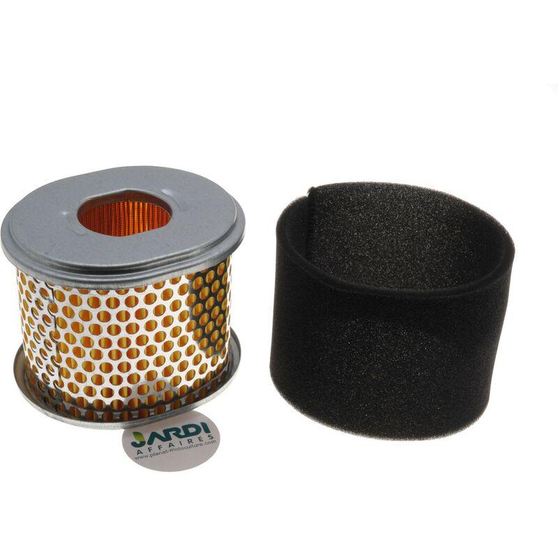 filtre air 111x96x92mm pour moteur honda gx240 gx270. Black Bedroom Furniture Sets. Home Design Ideas