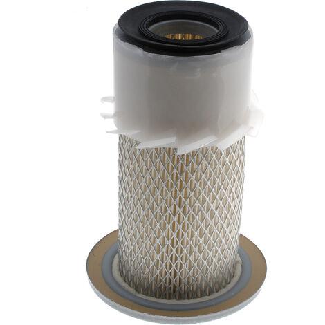 Filtre à air cylindrique 184x107x46mm pour tracteur, mini pelle, tondeuse