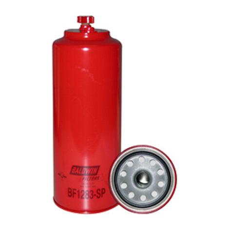 Filtre à carburant séparateur d'eau à visser avec orifice fileté et drain BALDWIN -BF1283-SP - -