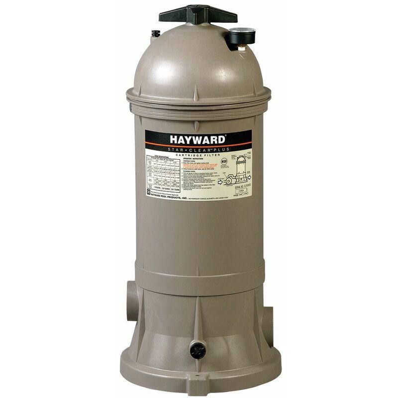 Filtre à cartouche pour piscine hayward star clear plus - 20 m³/h