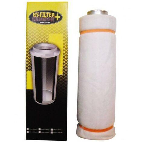 Filtre à charbon actif HY-FILTER + V2 CARBON 200mm 1000m3/H