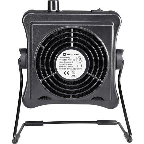 Filtre à charbon actif TOOLCRAFT ZD-159 1553619 230 V/AC 23 W 1 pc(s)