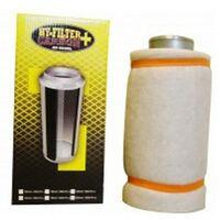 filtre à charbon actifs HY-FILTER + V2 CARBON 125mm 400M3/H