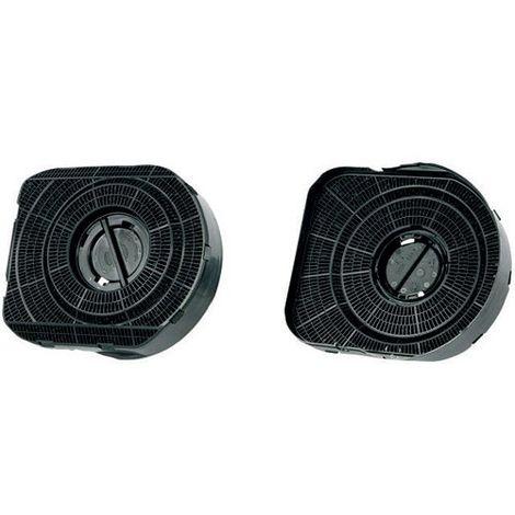 Filtre a charbon MCFE14 - 2 pieces pour hotte Electrolux, Aeg ref : 50290648000