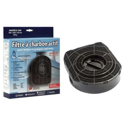 Filtre A Charbon Type 200 C00380118 Pour HOTTE