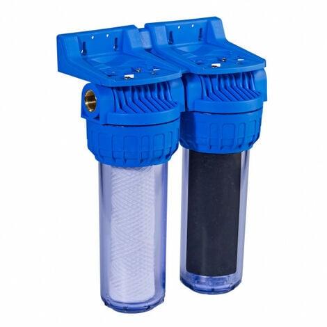 Filtre à eau 113 Duplex anti-odeurs anti-goût Filtration 20µ