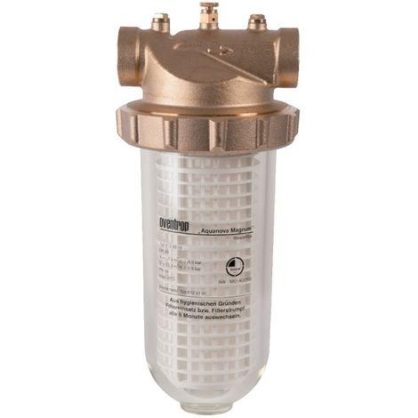 Filtre à eau à cartouche nettoyable Oventrop