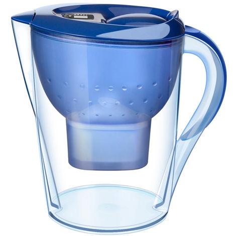 Filtre A Eau Transparent, 3,5 L, Bleu