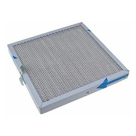 Filtre a graisse metallique (24,5 x 24,5 x 2,5 cm) pour hotte Novy