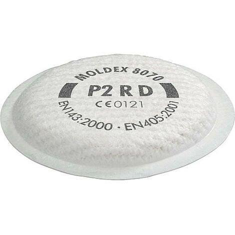 Filtre a particules P2 R D masque serie 8000 Emballage 4 paires
