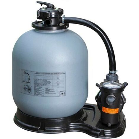 Filtre à Sable avec Minuterie 6 m3/h Gre FS400T