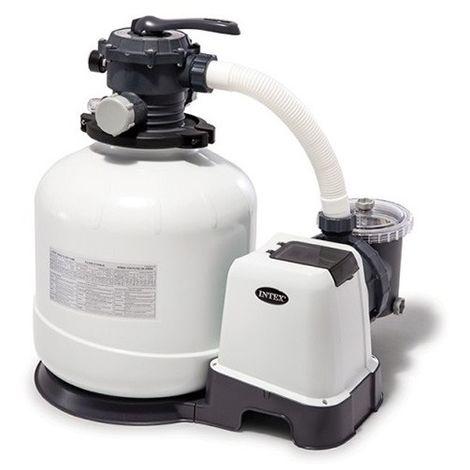 Filtre à sable Intex - 8m3/h de Intex - Groupe de filtration