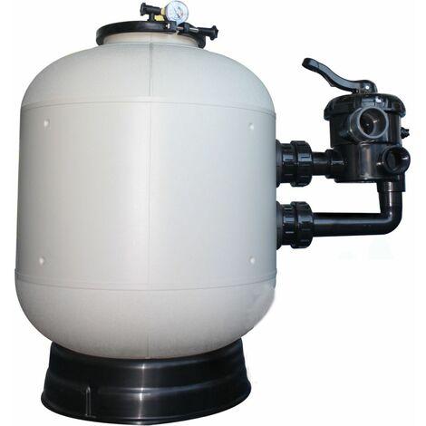 Filtre a sable piscine polyclair plus side ø s600 - 14 m³/h