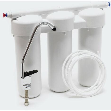 Filtre à sédiments 3 étapes système Finesse 5 µ sous évier