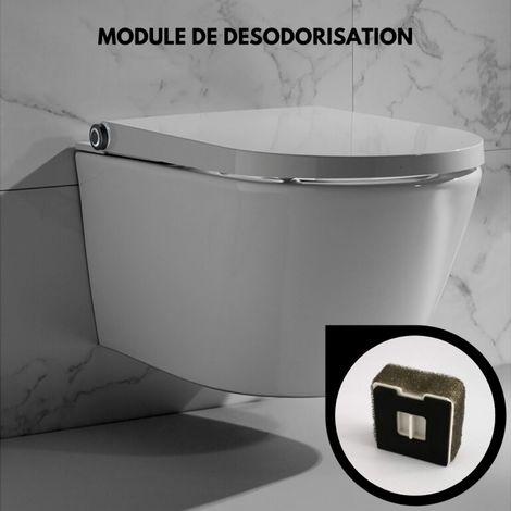Filtre anti odeur pour cuvette suspendue japonaise lavante WC clean