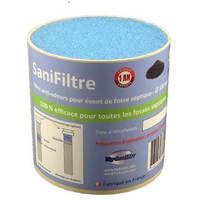 Filtre anti-odeurs pour fosse septique, toutes eaux, poste de relevage, cartouche au charbon actif