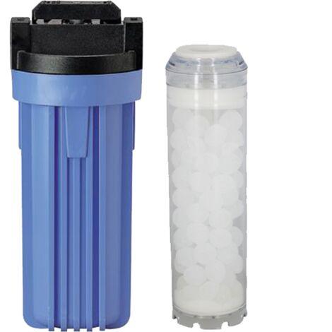 Filtre anti-tartre 10 avec by-pass 3/4 de Centrocom - Filtres eau domestique