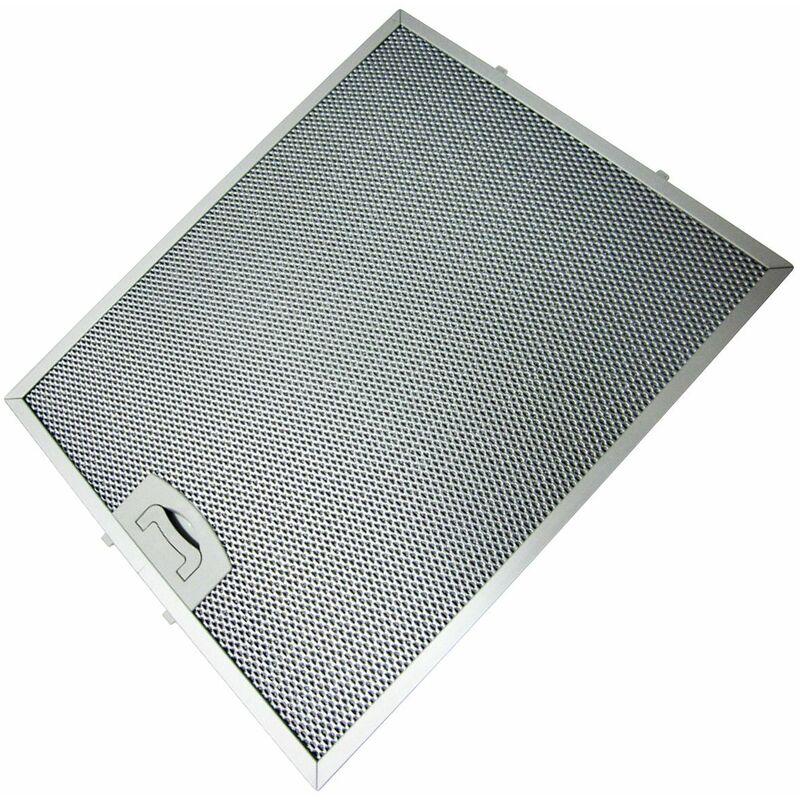 Filtre métal 257X318mm (267286-55130) (C00268543, 49010998) Hotte ARISTON HOTPOINT, INDESIT, TECNOWIND