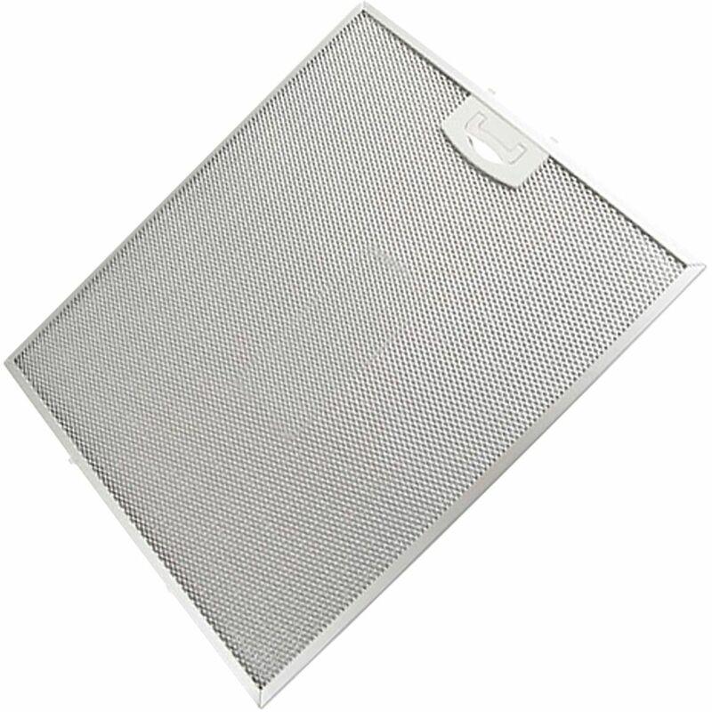 Filtre antigraisse métal 352x284 mm (49016227) Hotte FRANCIA, ELCOLUX, SOGELUX, CANDY, GLEMGAS, ROSIERES, BLUESKY, HYGENA, PROLINE, SAMSUNG, AYA,