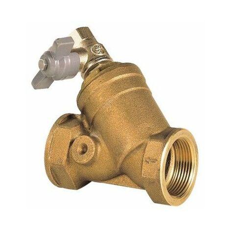 Filtre bronze à tamis 40x49 avec vanne