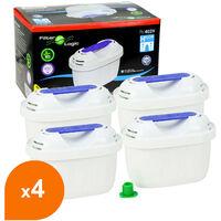 Filtre carafe filtrante FL-402H - Cartouche compatible Brita Maxtra (lot de 4)