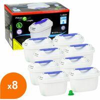 Filtre carafe filtrante FL-402H - Cartouche compatible Brita Maxtra (lot de 8)