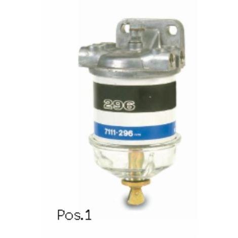 Filtre CAV complet 4612229, 4616707 adaptable FIAT (métrique)