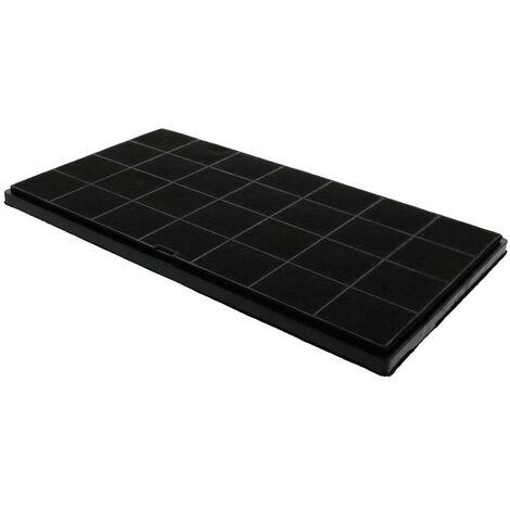 Filtre charbon 347x191x10mm pour hotte air force Scholtes 35299