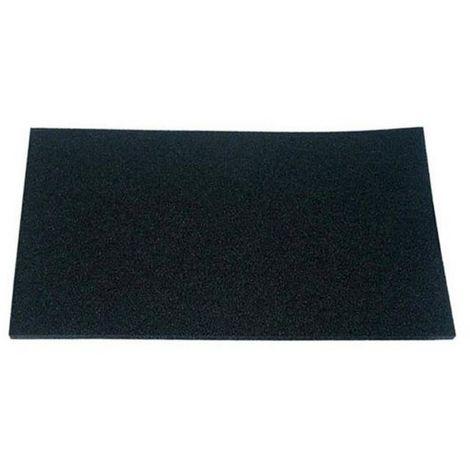 Filtre charbon (49x27cm) (à l'unité) (77X3616) Hotte 60418 DE DIETRICH, SAUTER
