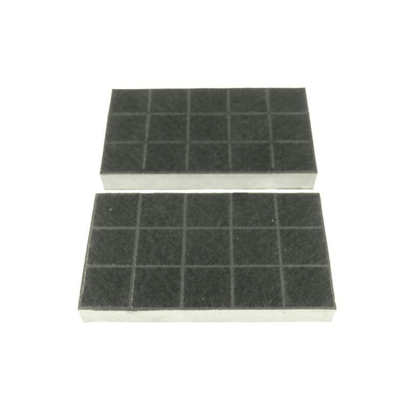 Lot de 2 filtres charbon (62996-19) (71X8368) Hotte SAUTER BRANDT - Thermor
