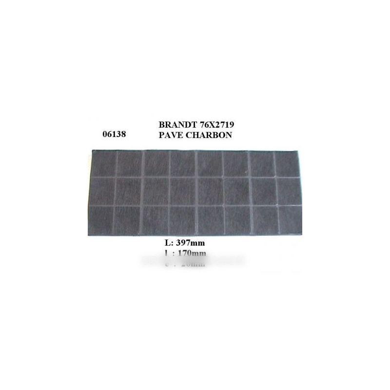 filtre charbon hotte brandt b174 pour hotte BRANDT