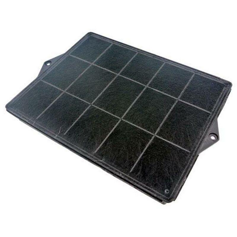 Whirlpool - Filtre charbon rectangulaire type 160 (DKF41) (à l'unité) (51044-1739) (481281718527, F00187/1) Hotte SCHOLTES, ROSIERES, BAUKNECHT,