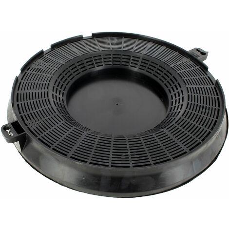 Filtre charbon rond d=235 type 48 pour Hotte Ariston, Hotte Indesit, Hotte Candy, Hotte Faure, Hotte Electrolux, Hotte Hotpoint, Hotte Whirlpool, Hott