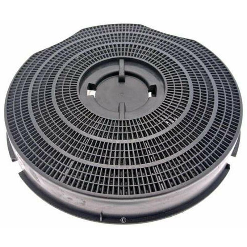 Whirlpool - Filtre charbon rond type 30 235mm 220g (à l'unité) (46582-2535) (484000008609) Hotte BAUKNECHT, ROSIERES, ARTHUR MARTIN ELECTROLUX,