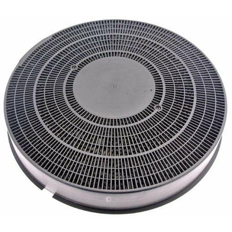 Filtre charbon rond type 40 (à l'unité) (51060-48442) (79X6679) Hotte ARTHUR MARTIN ELECTROLUX, BAUKNECHT, SCHOLTES, ELECTROLUX, IGNIS, RADIOLA,