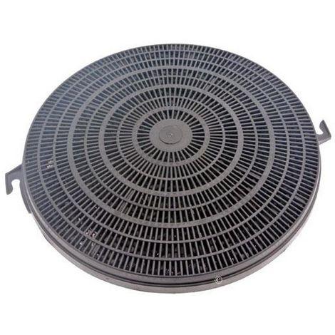 Filtre charbon type 211 CHF211 (FCH240 480181700942) Hotte 37245 FAURE, ARTHUR MARTIN ELECTROLUX, FAGOR, CANDY, ARTHUR MARTIN, BRANDT, ROSIERES, FAR