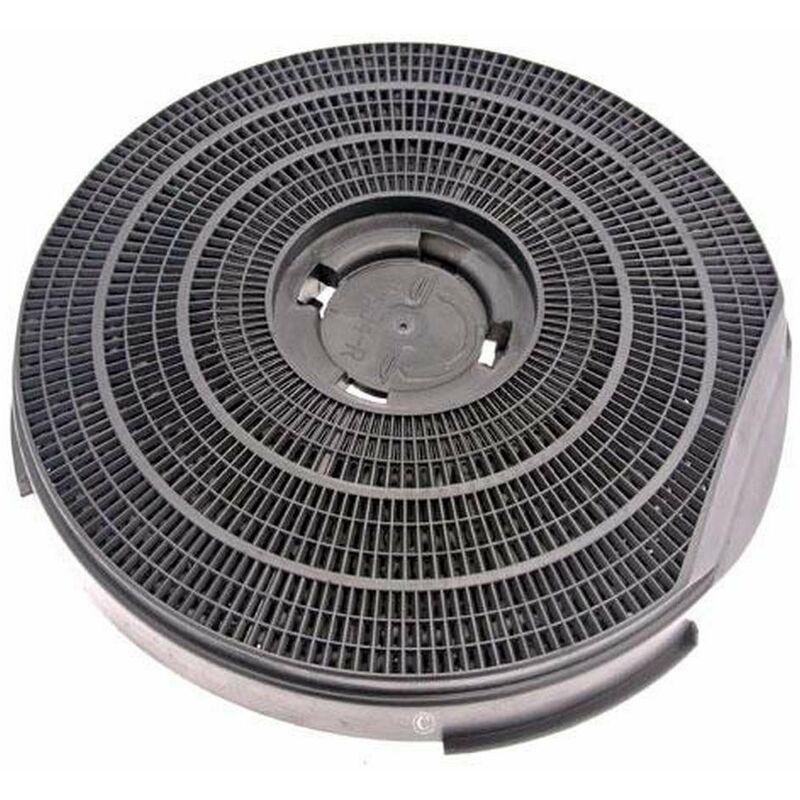 Filtre charbon rond type 34 255mm 290g (à l'unité) (46573-2544) (481281718531) Hotte WHIRLPOOL, ROSIERES, ARISTON HOTPOINT, SCHOLTES, BAUKNECHT,