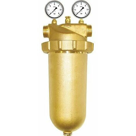 Filtre chauffage en laiton DN 40 (1 1/2``) femelle