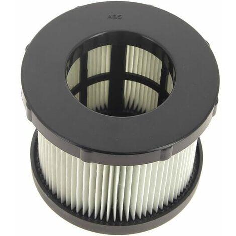 Filtre cylindrique pour Aspirateur Black & decker