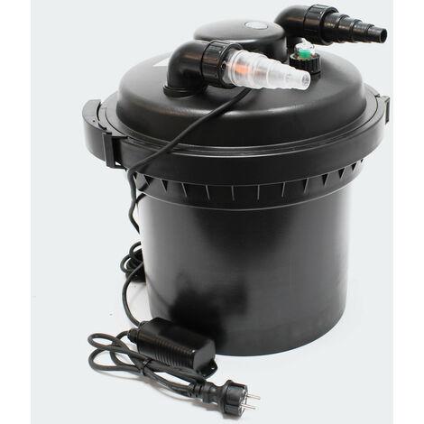 Filtre de bassin à pression UVC 11W jusqu'à 8000l