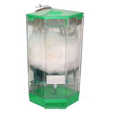Filtre de coin JUMBO sur pompe à air pour aquariums
