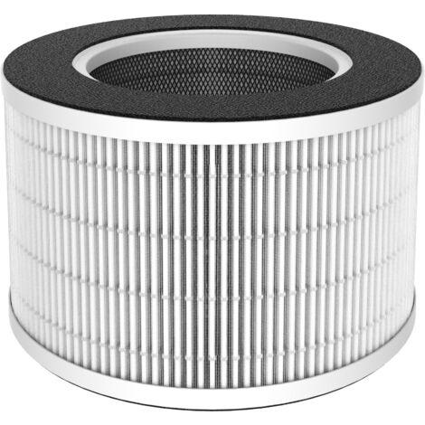 Filtre de rechange HEPA pour purificateur air OAKLAND 3 niveaux de filtration
