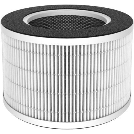 Filtre de rechange HEPA pour purificateur d'air PACIFIC 3 niveaux de filtration