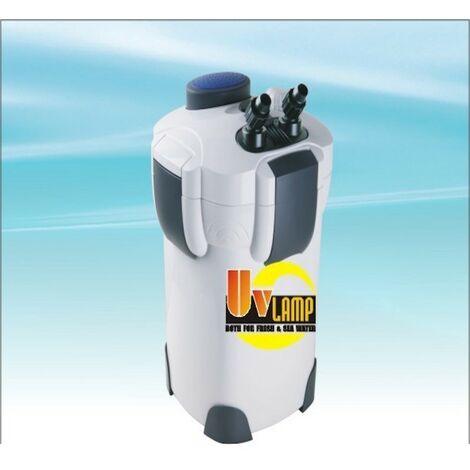 Filtre Externe 1000 l/h Avec UV 9W Pour Aquariums d'eau douce et marins